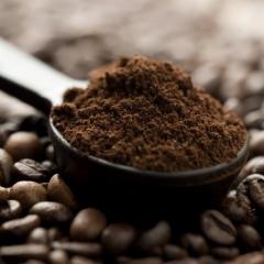 café, peau, cosmétiques, naturels